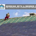 Working with a Member of the Choice Roof Contractor Group™
