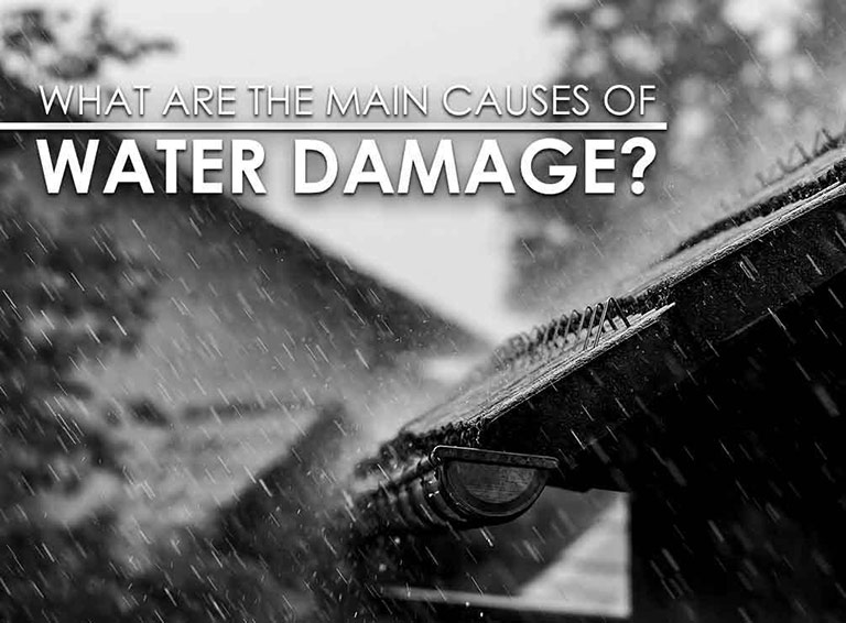 What Are the Main Causes of Water Damage?
