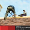 Q and A: What to Ask Your Roofer When Hiring